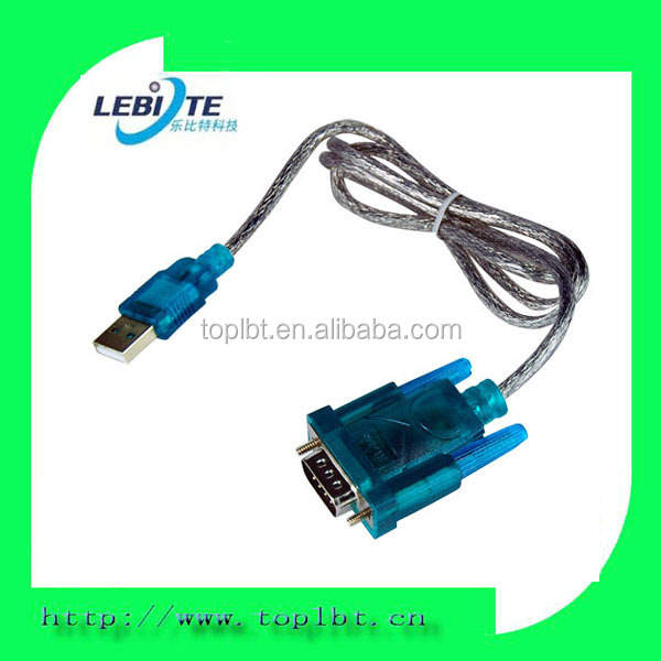 USB 2.0 to RS232 Serial Port DB9 9 Pin Male Converter Adapter Cable
