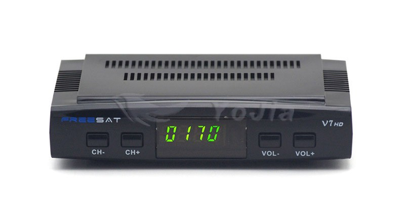 Genuine Freesat V7 DVB-S2 Satellite TV Receiver Support PowerVu Biss Key Cccamd Newcamd Youtube Youporn USB Wifi Set Top Box