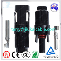 IP67 50A MC4 PV cable panel connector Male/Female for Solar Systems