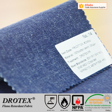 EN11611&11612 Flame retardant FR workwear denim safety cotton fabric