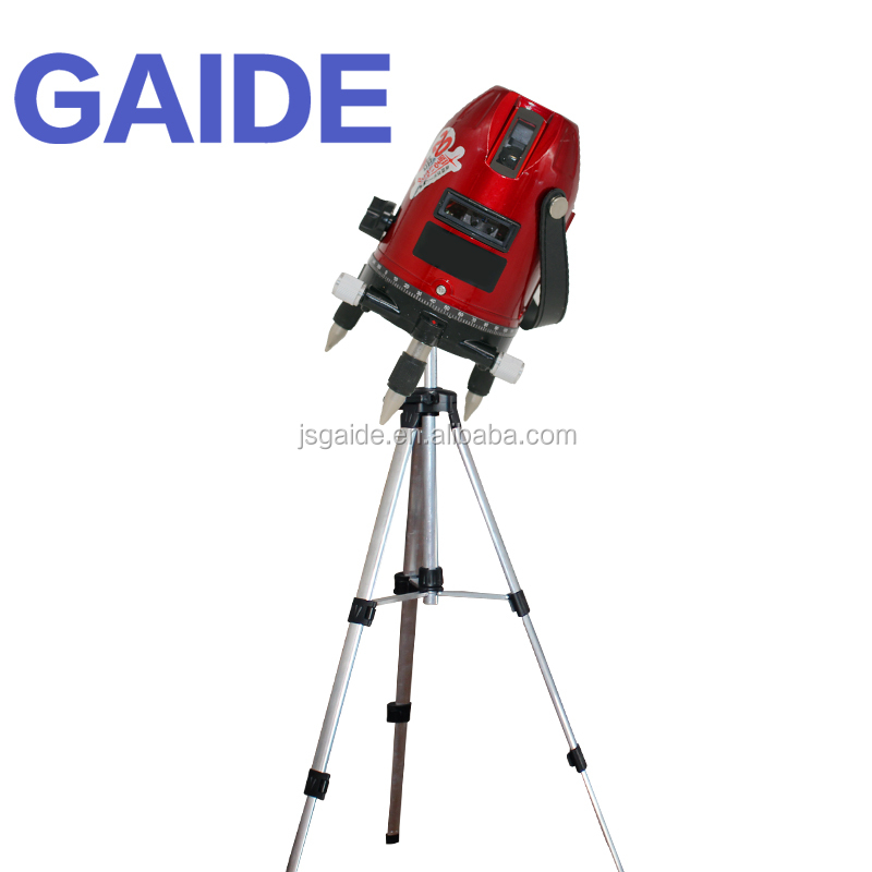 Small rotary 90 vertical laser cross level with tripod and goggles