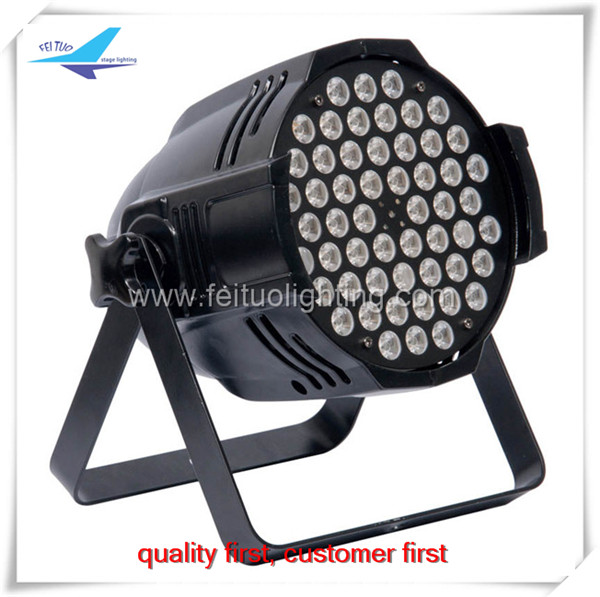High power 54pcs 3W led par lights for stage lighting with white effect