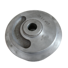 ISO 9001 grey iron slurry pump impeller iron casting
