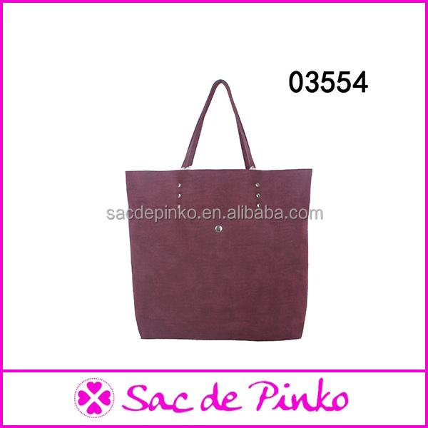 2014 Popular fashion ladies handbags goat leather bag