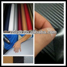 Bubble free vinyl for vehicle wrap, 3D Carbon Fiber Vinyl,auto vinyl 3d carbon