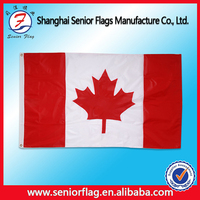 country flag, promotional flags with canada national logo flag,woven flag fabric