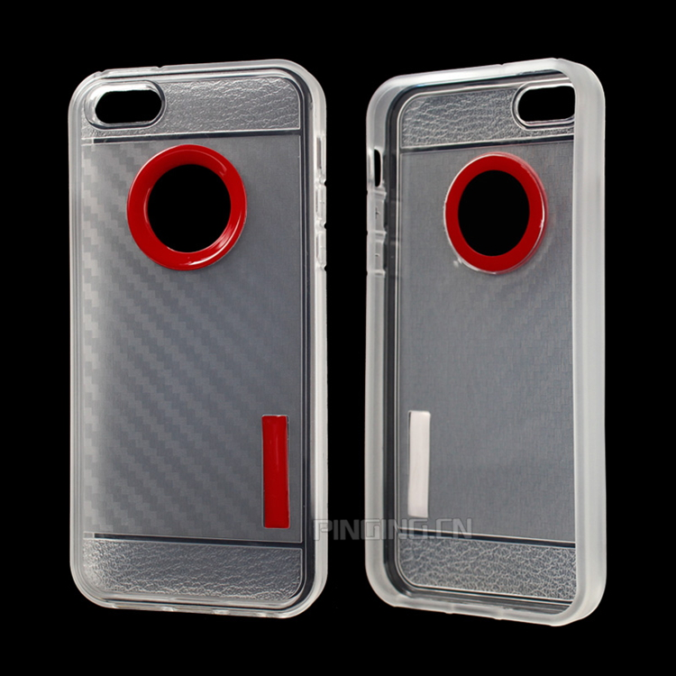 Guangzhou price for iphone 5,2mm prism tpu carbon fiber case for iphone 5s cover