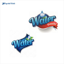 Best quality glass bottle water private label,mineral water bottle printing label,water label