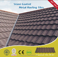 Popularly in Nigeria imitation roof tiles/cheap stone coated metal roof tile/roofing shingle
