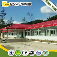 Top Grade Earthquake Proof Prefab Galvanized Steel Frame House