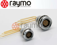 LEMO right angle female 7 pins circular connectors Elbow 90 plug FHG 0B/1B/2B/3B, male/female solder type