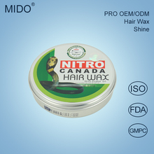 China Hair Gel Brands Manufacturer Private Label Best Ingredients Mix Box Hair Wax With Snake Oil