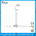 Wall Mounted Thermostatic Shower Mixer With Zinc Handle