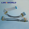 Linkworld tinned plated gold plated acetate tape flexible flat cable