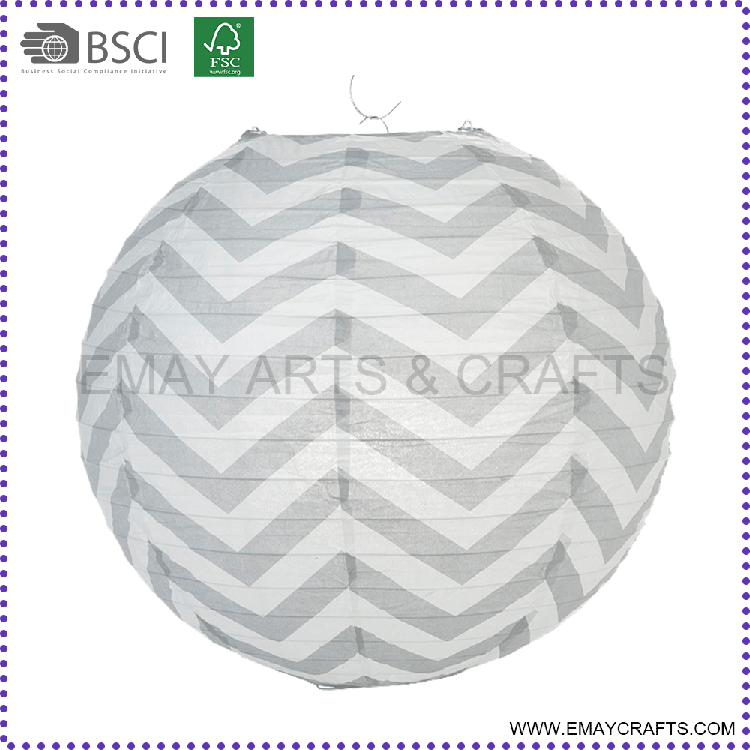 High Quality Outdoor Hanging Chinese Round Paper Lanterns Wholesale