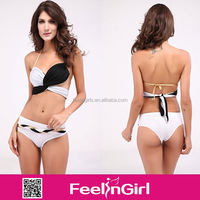 wholesale sexy cheap white and black micro bikinis transparentes no moq