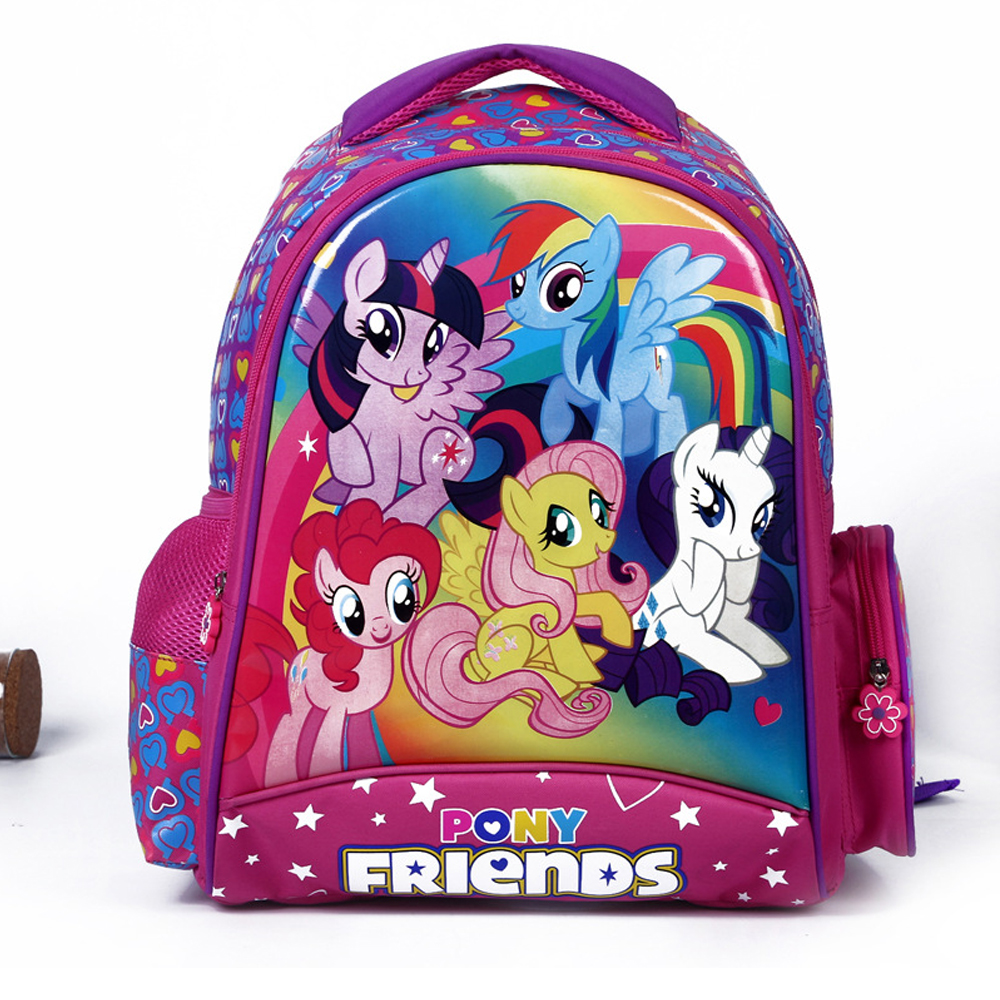 Wholesale Girls middle School bag cartoon pattern backpack kids
