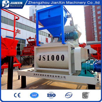 High efficiency low price concrete mixer stainless steel