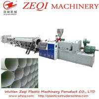 pvc pipe making machine, plastic pipe macine, plastic water pipe making machine with Large diameter