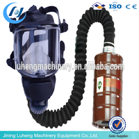 Replaceable type carbon cartridge full face gas mask