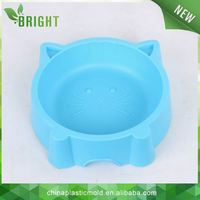 cat shaped pet food bowl plastic food container dog food bin