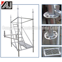 Multi-functional high trength steel ring lock system scaffodling
