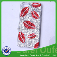 Acrylic diamond mobile phone cover,acrylic rhinestone for mobile phone shell