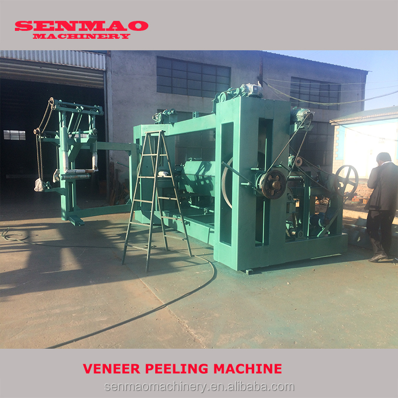 2015 plywood face spindle veneer peeling machine/wood lathe chuck for sale