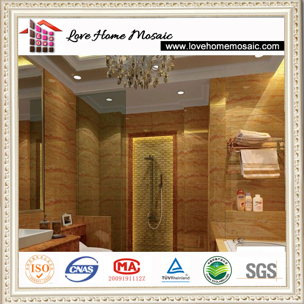 Alibaba Best Wholesale Imported Emperior gold yellow marble for bathroom flooring