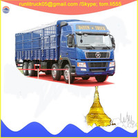 CGC1312D4XD Dayun DYX10 left hand drive cargo truck 8*4 20 tons sale for lorry transport service company