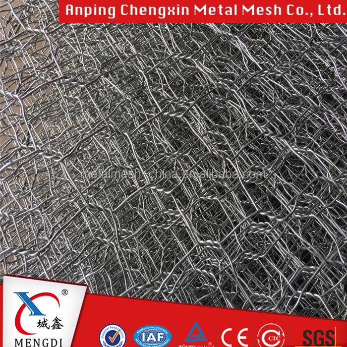 Factory Galvanized Hexagonal gabion box 8x10cm