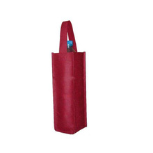 High quality OEM recycle cheap make bottle non woven bag for packing wine