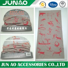 2016 Seamless Tube Printed Custom Multifunction Bandana Neck Gaiter