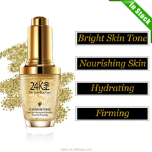 In Stock 24K Gold Essence Moisturizing Hyaluronic Acid Liquid