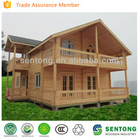both high quality and best price prefabricated wooden house