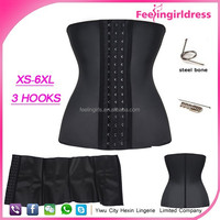 Wholesale 9 Steel Bone Waist Training Corsets Wholesale Rubber Corsets