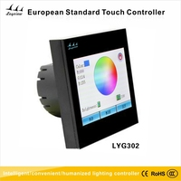 3 CH New European Standard RGB Touch Screen Controller for LED Lighting