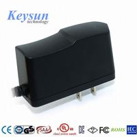 12W wall plug on off switching power adapter for CCTV LED lighting bulb with CE UL CUL PSE KC GS approval
