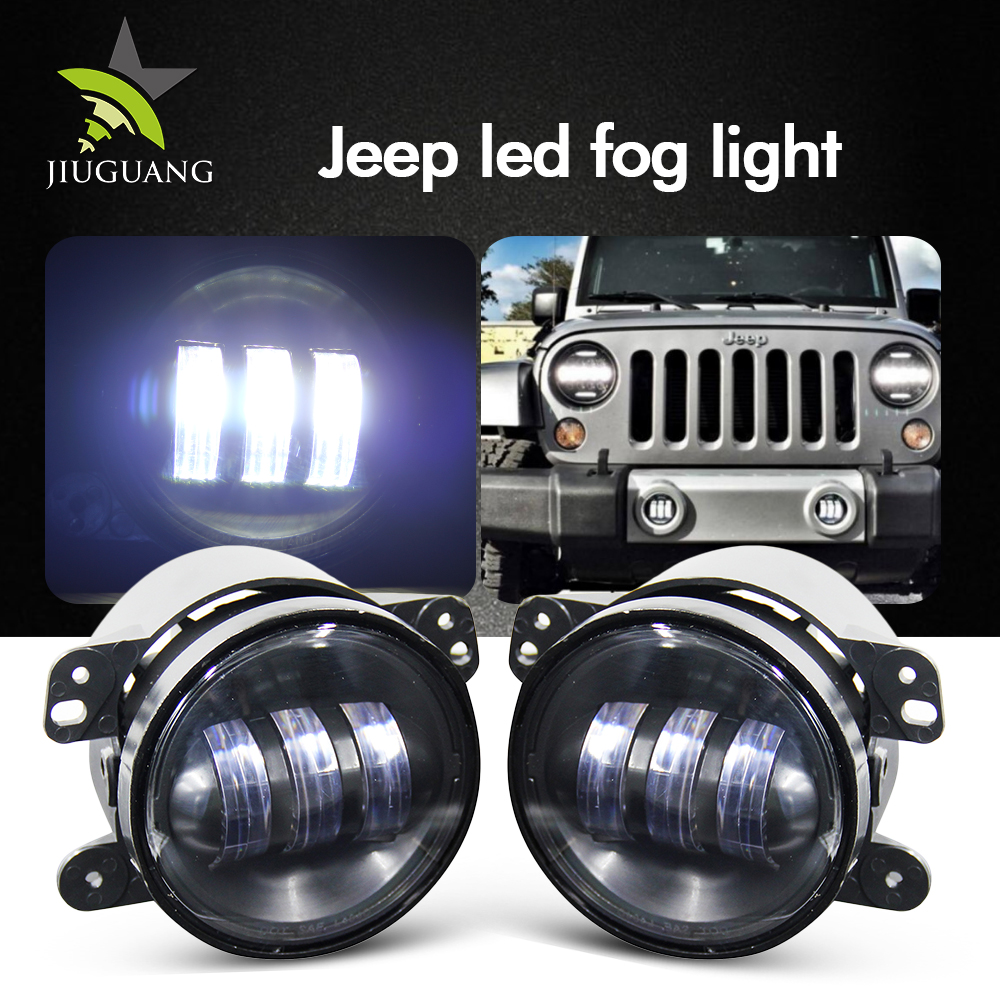 Truck Jeep Offroad 4x4 6 Inch 12v 24v forklift fog light for Wholesale
