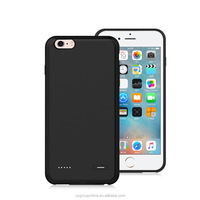 2500mAh Ultra Slim silicone backup battery case for iPhone 6/6s