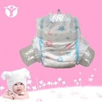 2016 new product colored disposable baby diaper with high quality