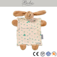 stuffed plush rabbit bunny cotton baby lovies for babies