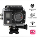 4k action camera waterproof 30M with wifi Accept small orders wifi sport camera