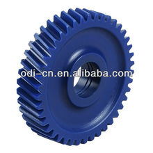 ISO OEM Blue Color High Precision Small Helical Plastic Gear