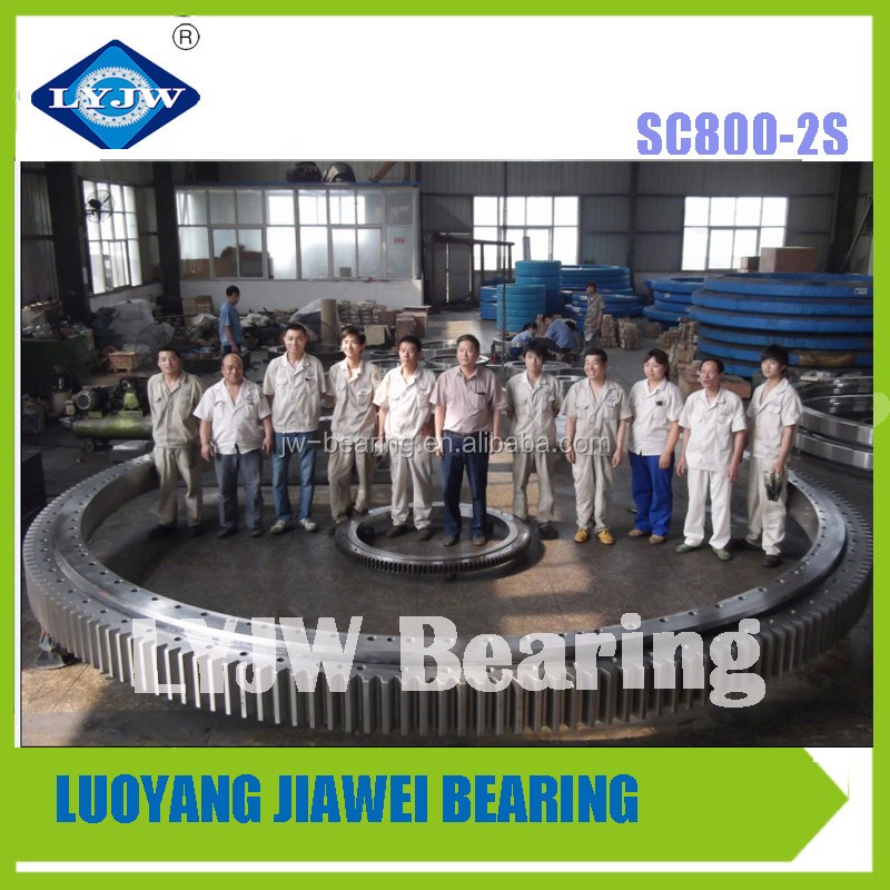 Mobile Cranes Four Point Contact Ball Bearing Slewing Ring