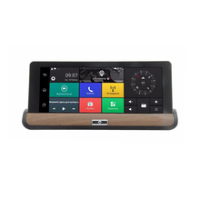 3g 7-inch Video Camera Recorder Multimedia Entertainment gps Navigation System with Dual Cam