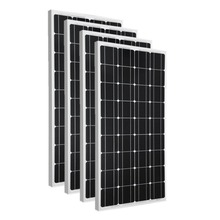 White and black Chinese Mono 200w 300w 350w commercial grade solar panels