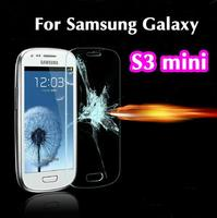 Ultra Thin 0.3mm 2.5D Explosion Proof Premium Tempered Glass Screen Protector Anti-scratch Film For Samsung Galaxy S3 Mini I8190