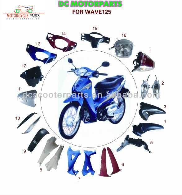 Wave Motorcycle Body Parts