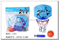 Promotion mini basketball set for kids sport toys
